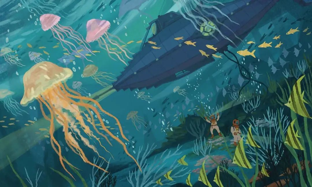 青春风铃:《海底两万里》读后感