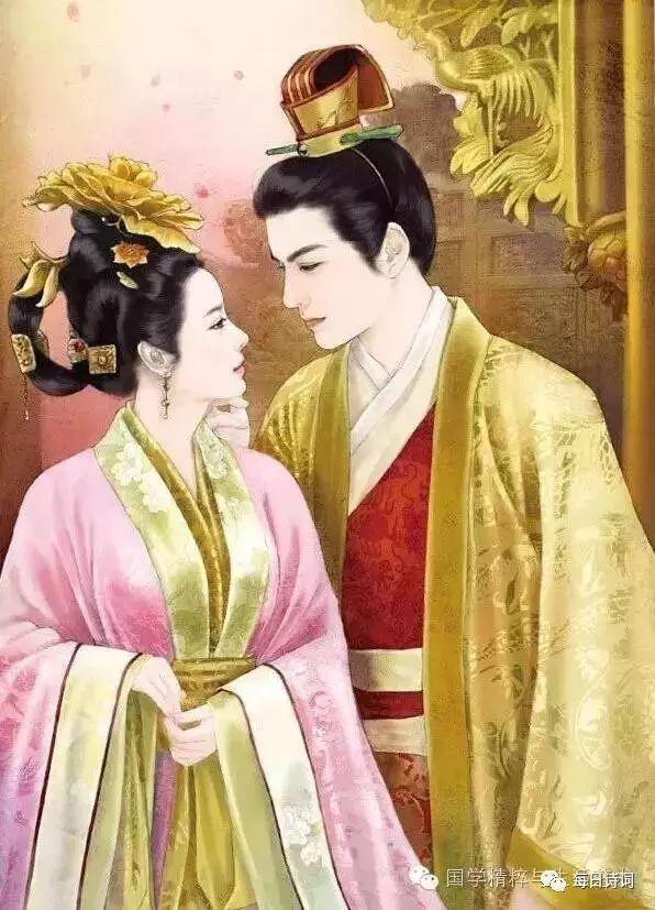 """值得珍藏的100句有关""""我爱你""""的古诗词!(备用)"""